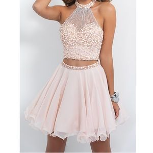 homecoming/prom two piece dress